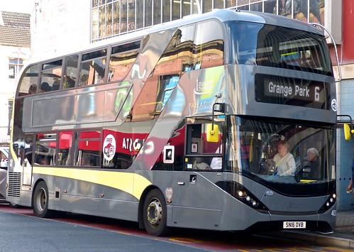 SN16 OVB 'Blackpool Transport' No. 402 ,'PALLADIUM'. Alexander Dennis Ltd. (ADL) E40D / 'ADL' Enviro 400City on 'Dennis Basford's railsroadsrunways.blogspot.co.uk'
