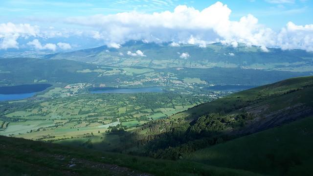 Les 3 lacs : Pierre Châtel, Pélichet et Laffrey