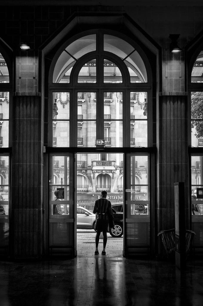 L'homme de la Gare de l'Est