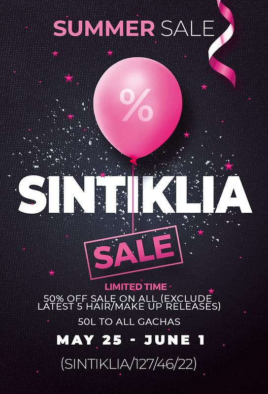 Sintiklia SALE @mainstore