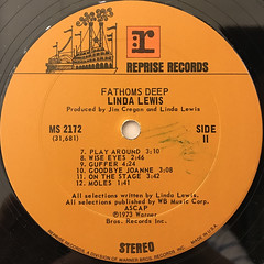 LINDA LEWIS:FATHOMS DEEP(LABEL SIDE-B)