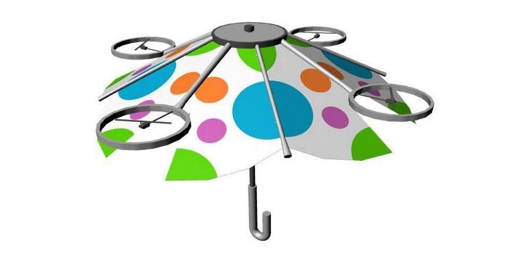 Un «drone parapluie» qui plane au-dessus de votre tête