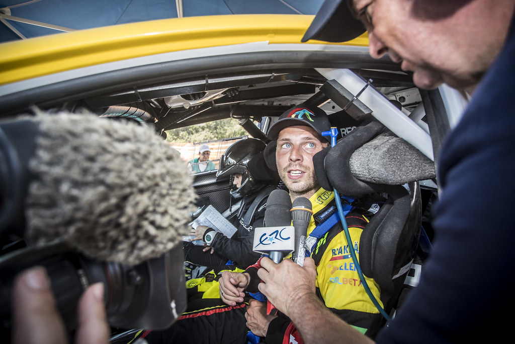 BRYNILDSEN  Eyvind (nor),  ENGAN Veronica (nor), Ford Fiesta R5, portrait during the European Rally Championship 2018 - Acropolis Rally Of Grece, June 1 to 3 at Lamia - Photo Gregory Lenormand / DPPI