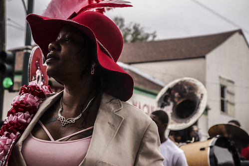 Men and Women of Unity second line - Jan. 28, 2018. Photo by Jamell Tate.