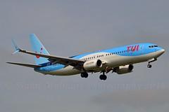 TUI Airlines Netherlands PH-TFD Boeing 737-86N Split Scimitar Winglets