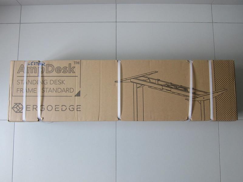 ErgoEdge AmpDesk Standing Desk - Frame Box