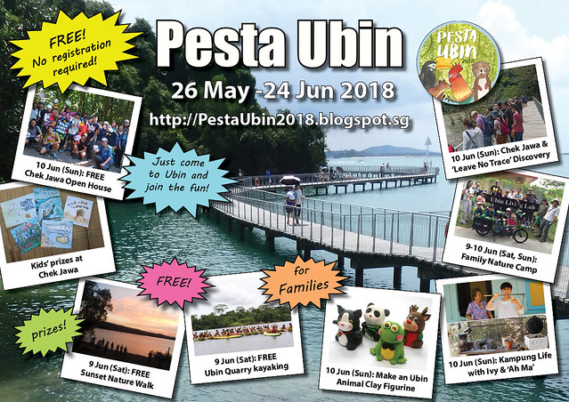 Pesta Ubin 2018: 3-10 June