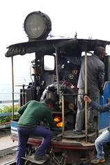 Steam Engine of Darjeeling Toy Train