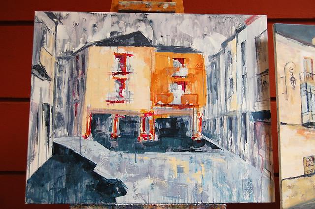 "pintura rápida ""villa de Aranda"" 2018"