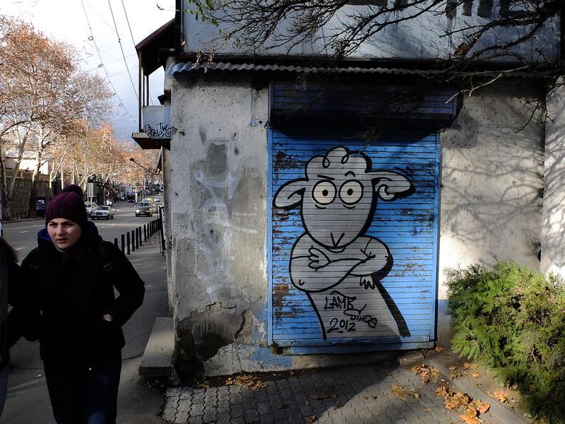 Стрит-арт в Тбилиси