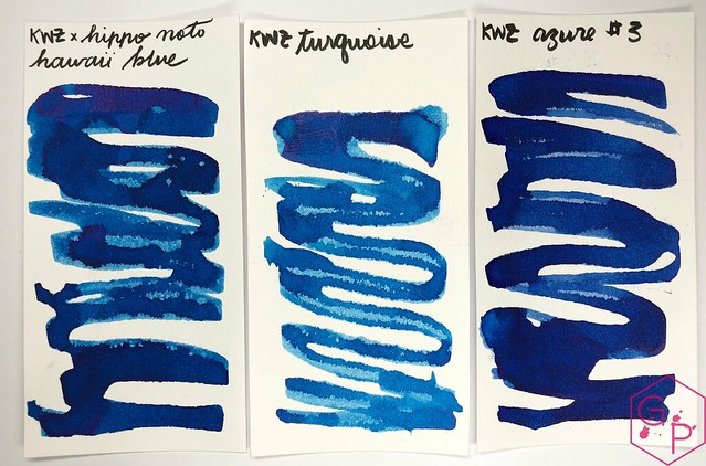 KWZ Ink Hawaii Blue Ink Review 7
