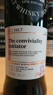 SMWS 115.7 - The conviviality initiator