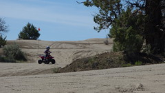 Off-road riding at Christmas Valley