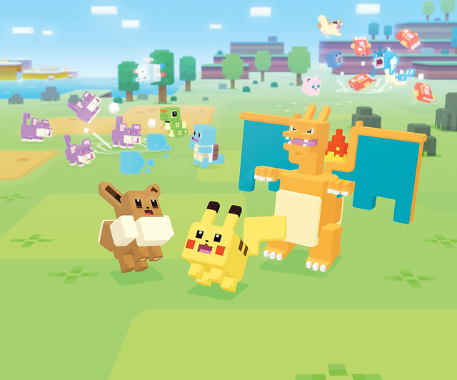 Pokemon Quest Screens
