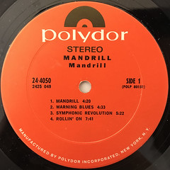 MANDRILL:MANDRILL(LABEL SIDE-A)