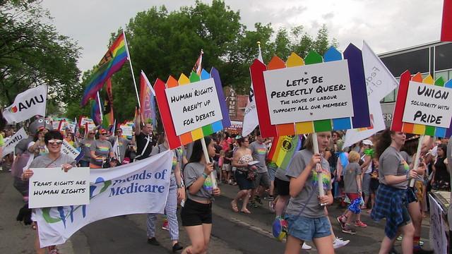 Edmonton Pride Parade 2018