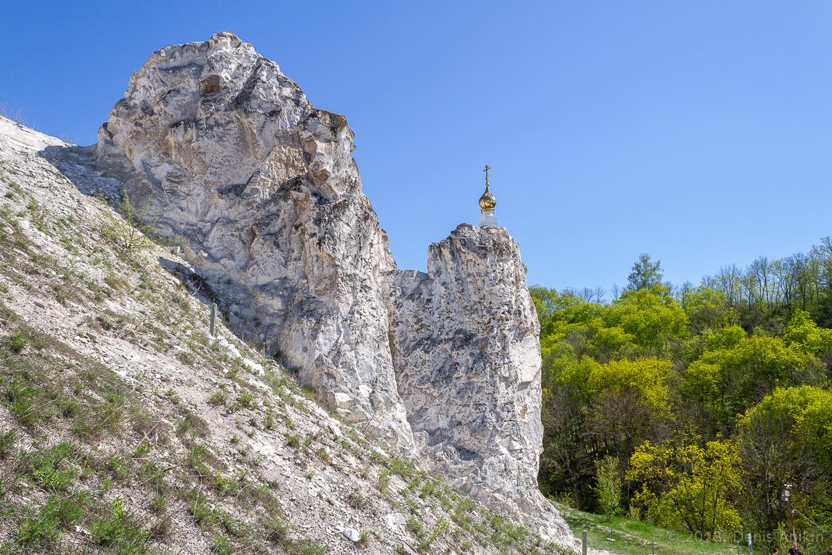 Пещерная церковь Дивногорского Свято-Успенского мужского монастыря фото 15