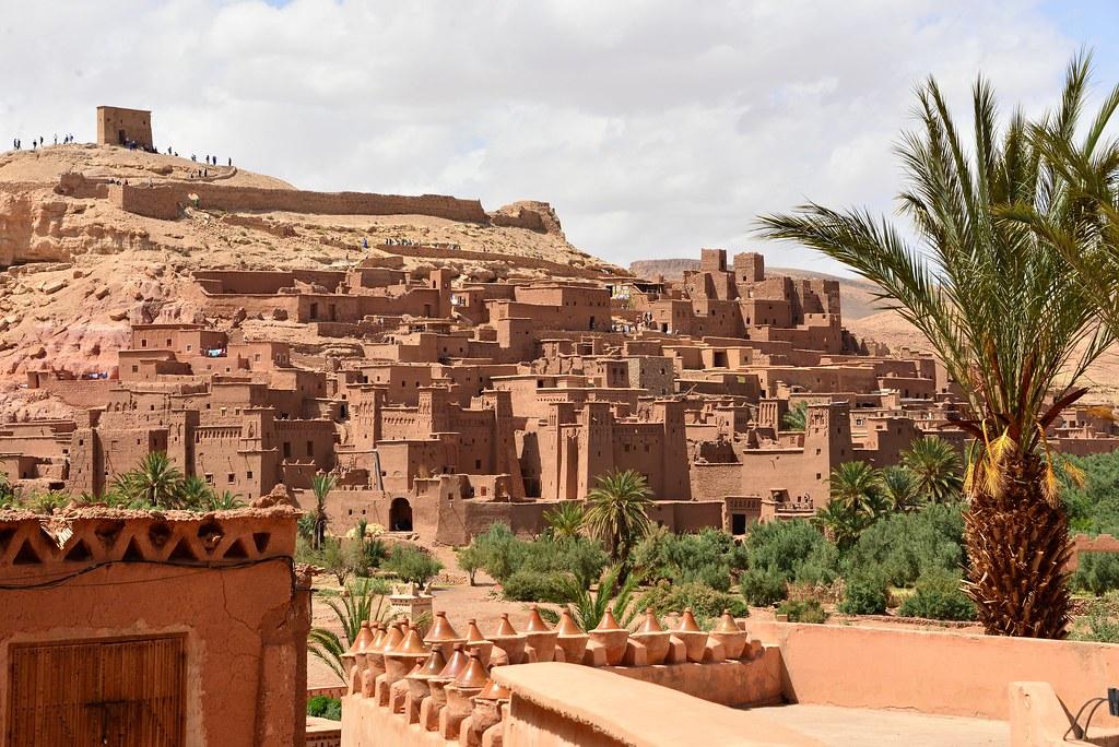 Ciudad amurallada Marruecos Ait Ben Haddou