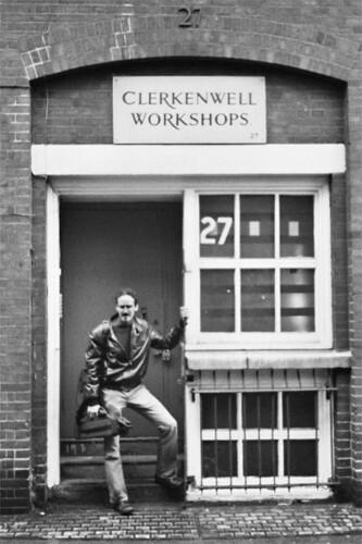 Ucnle Al in Clerkenwell in 2004