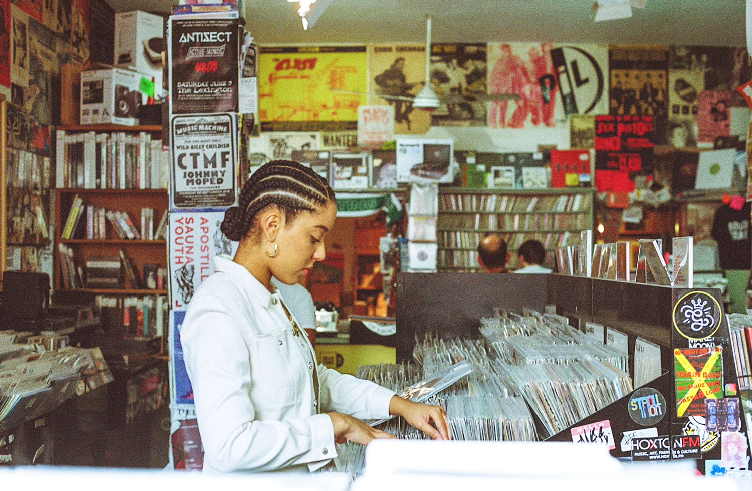 Record Shopping With... Grace Carter