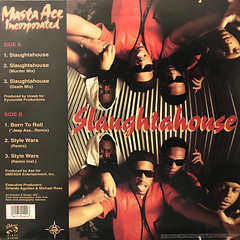 MASTA ACE INCORPORATED:SLAUGHTAHOUSE(JACKET B)
