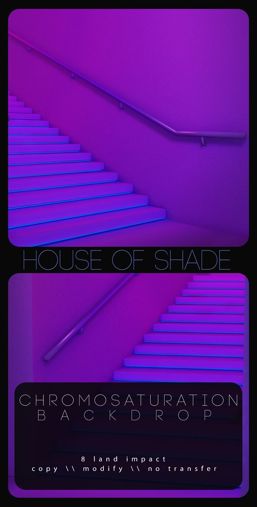 House of Shade - Chromosaturation Backdrop AD - TeleportHub.com Live!