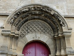 Berteaucourt-les-Dames : Eglise (Tympan)