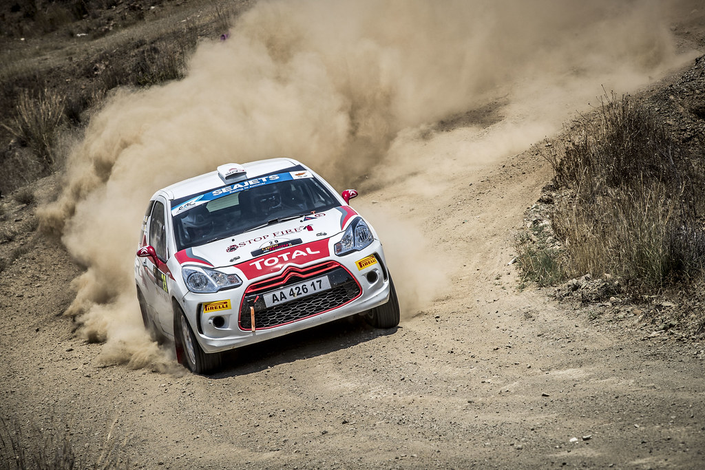29 MANNOURIS Christos (CYP), MANNOURIS Andreas (CYP), CHRISTOS MANNOURIS, CITROEN DS3 R3T, action during the 2018 European Rally Championship ERC Cyprus Rally,  from june 15 to 17  at Larnaca, Cyprus - Photo Gregory Lenormand / DPPI