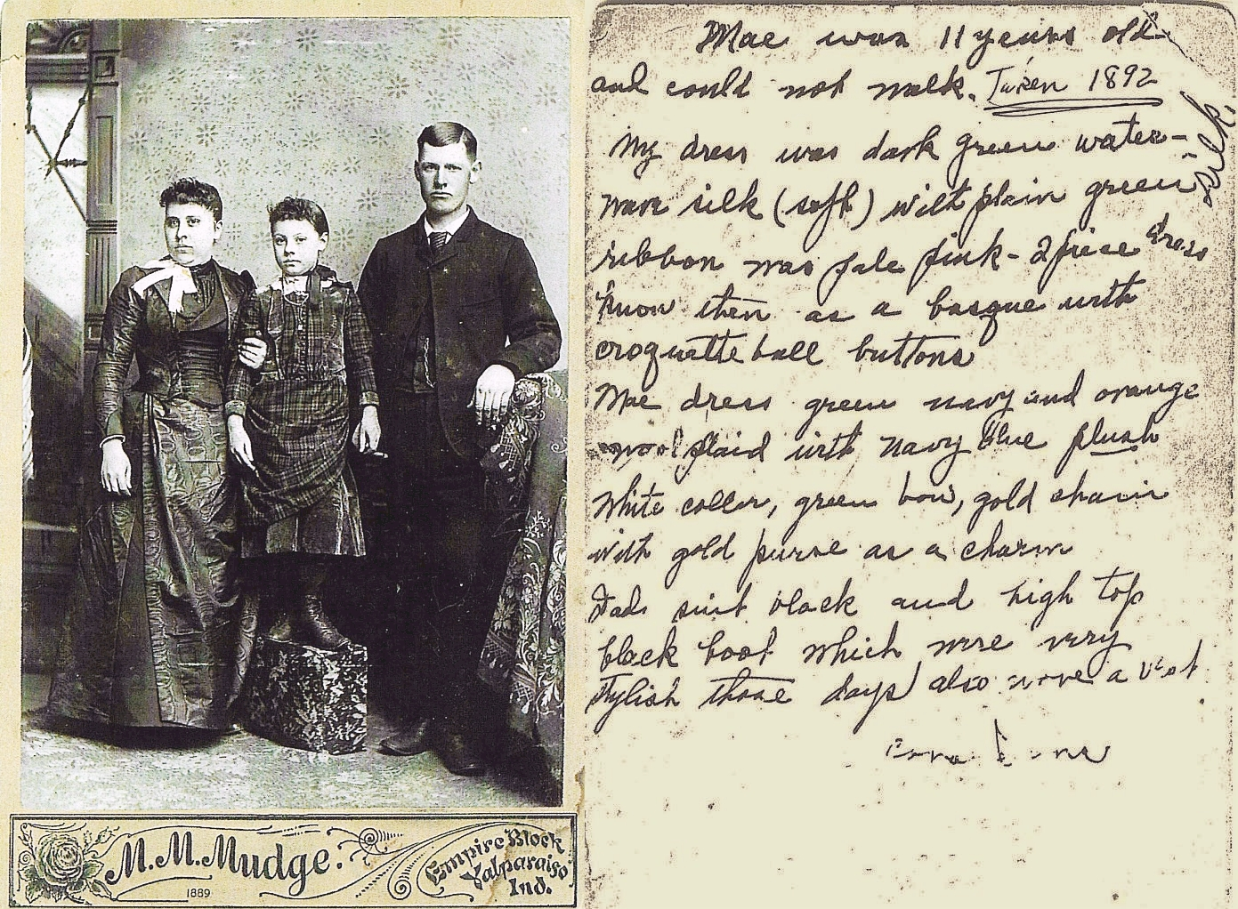 John Sams family 1892