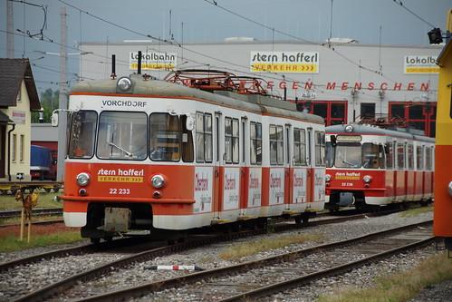 22 233 und 22 236 abgestellt in Vorchdorf