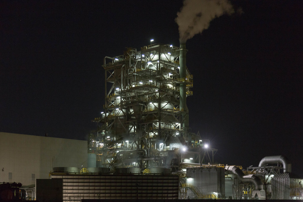 20180519 Kawasaki factory night view
