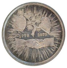 Mecklenburg Declaration of Independence Medal obverse
