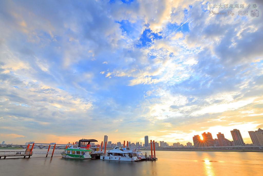 台北大稻埕碼頭 夕陽