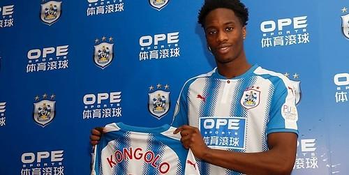 Huddersfield menandatangani Kongolo dari Monaco