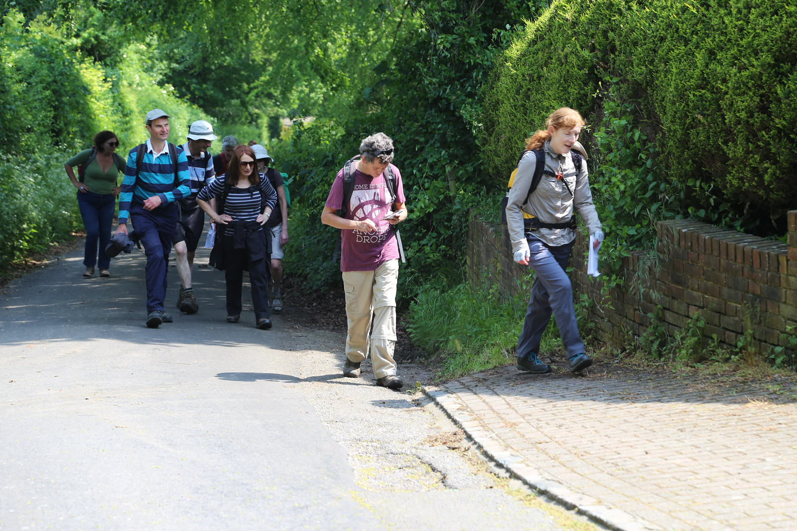 Leading the way - Otford to Eynsford Walk