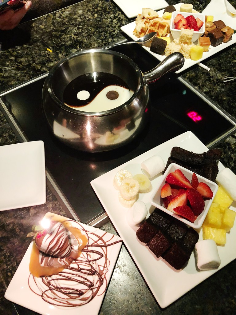 Birthday Dinner at The Melting Pot