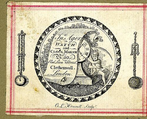 Clerkenwell Clock maker