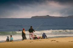 Fishing in Half Moon Bay