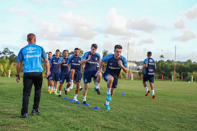Treino Grêmio em Recife 12/06/18