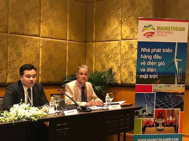 Press conference at GWEC's 1st Vietnam Wind Power Event