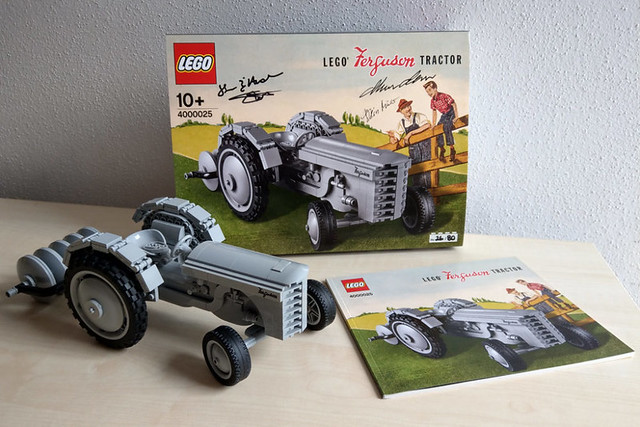LEGO 4000025 Ferguson Tractor (Inside Tour 2018)