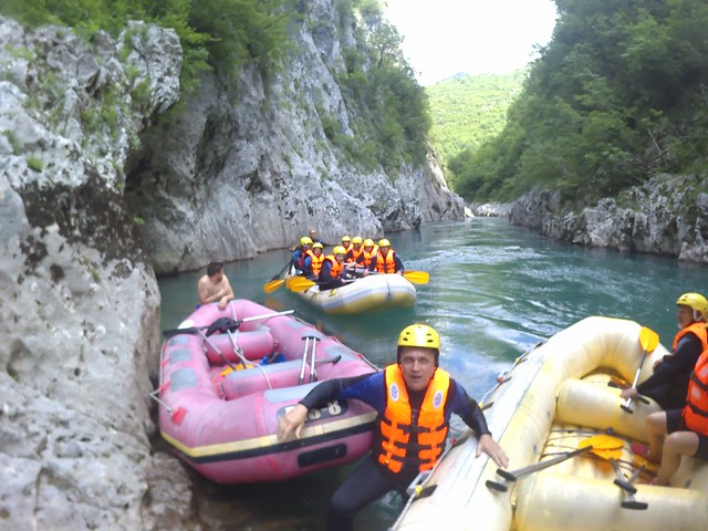 Rafting tour starts here