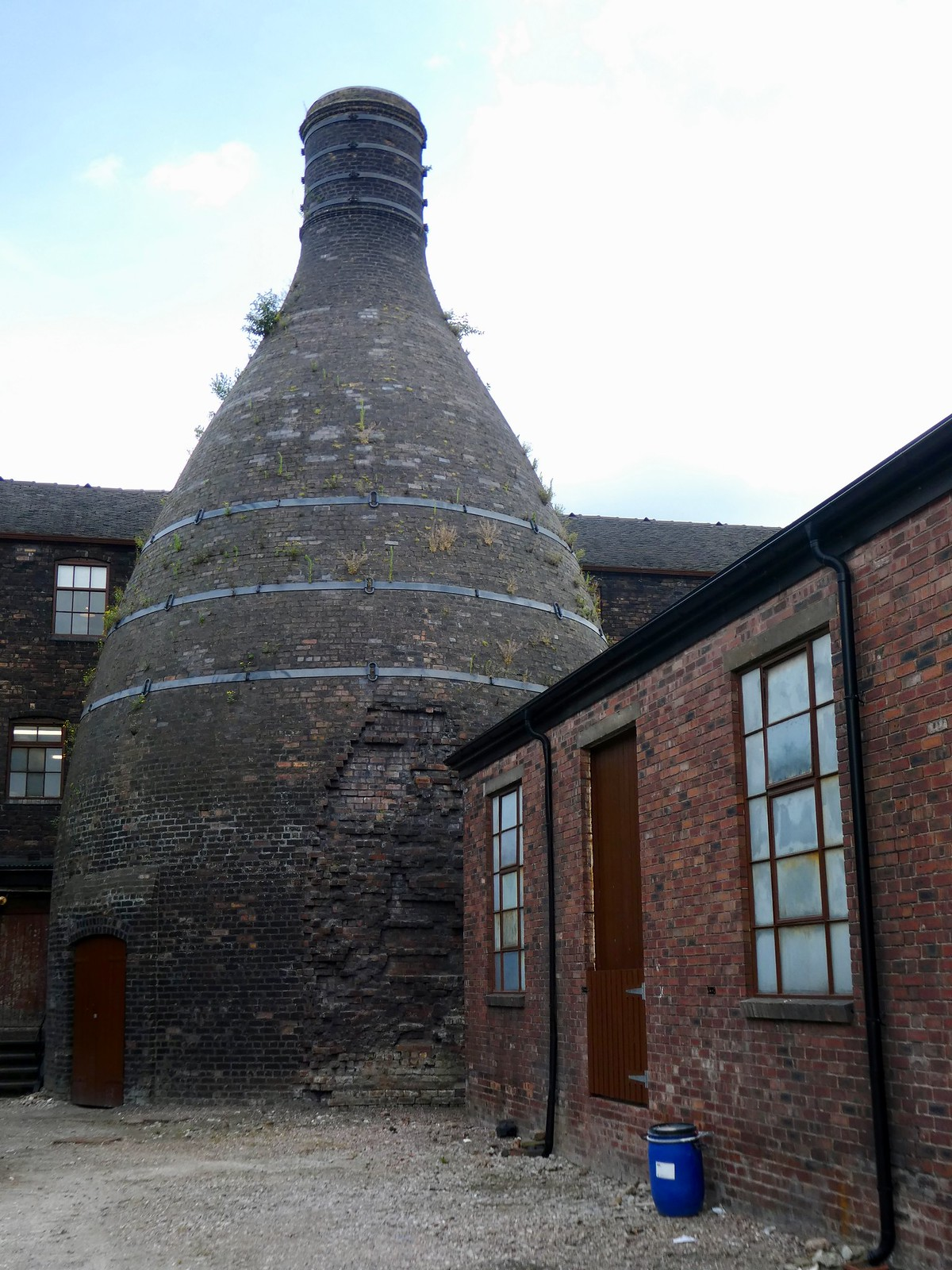 Bottle oven, Middleport Pottery, Burslem