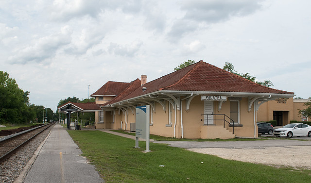 Palatka Amtrak station (#0375), Nikon D5600, AF-S DX VR Zoom-Nikkor 18-55mm f/3.5-5.6G