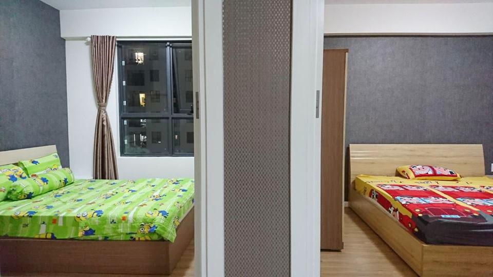 2 phòng ngủ trong nhà tại M-One
