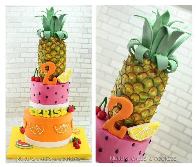 Summer Fruits Cake by Nukus Cakes & Cookies