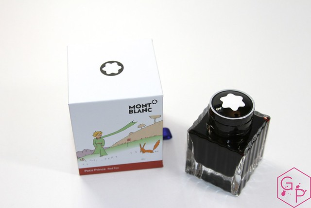 Montblanc Le Petit Prince Red Fox Ink Review @AppelboomLaren @Montblanc_World 5