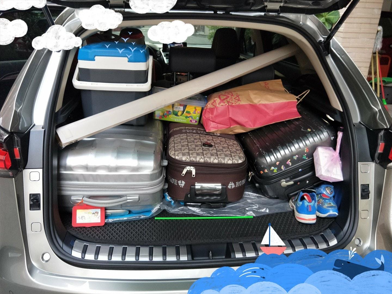 NX200後行李廂空間