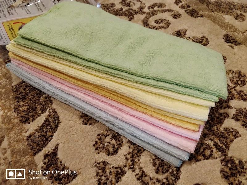 アマゾンで人気の雑巾 (3)