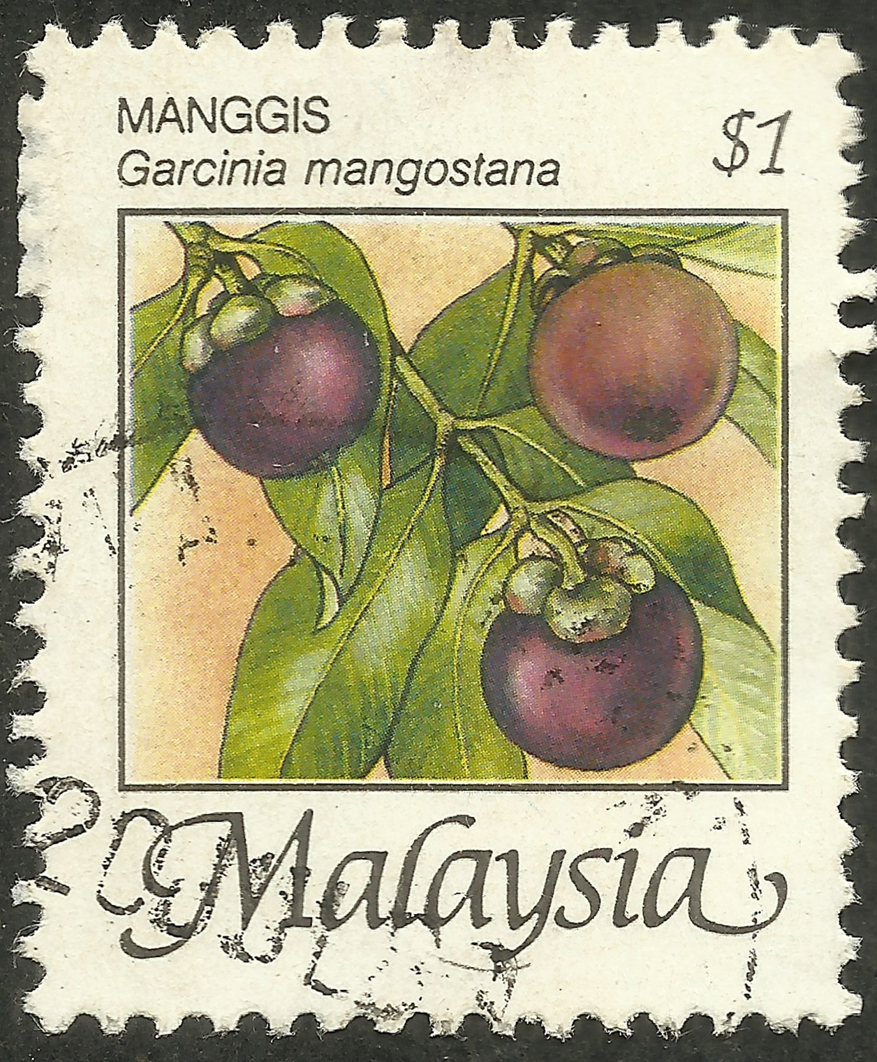 Malaysia - Scott #332 (1986)